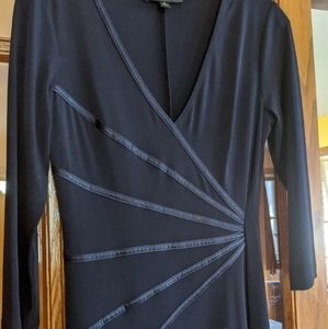 Connected Black Dress
